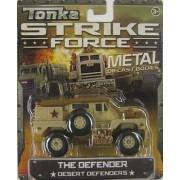 Tonka Strike Force Metal Diecast Bodies. The Defender. Desert Defenders. 1:55 Scale.