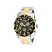 Invicta Watches Invicta Men's 19839SYB Pro Diver Swiss Quartz Two-Tone Stainless Steel Watch BlackTwo Tone