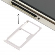 iPartsAcheter Huawei Mate S Nano carte SIM Plateau + Nano SIM / Micro SD Carte Plateau (Argent)