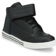 Server Jordano Look Hi-Ankle Black Casual Sneakers