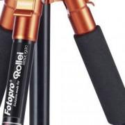 Rollei Trojnohý stativ Rollei Compact Traveller NO.1, min./max.výška 30 - 140 cm, oranžová