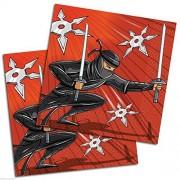 Ninja Warrior Party Paper Luncheon Napkins Pack Of 16