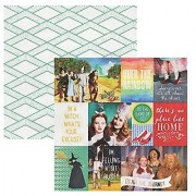 Paper House Productions P-2081E 12 Double Sided Scrapbook Papers Wizard of Oz Tags (15-Pack)