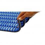 Nassraummatte, antibakteriell 10-m-Rolle blau, Breite 1000 mm