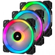 CORSAIR LL120 RGB BLACK FAN - 3X