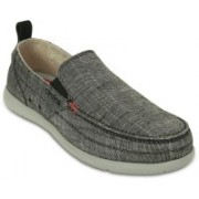 Crocs Walu Chambray Loafers For Men(Grey)