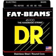 DR Strings FB-45/100 Fat-Beams Bass Strings Medium Lite 45/100