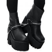 Ženske čizme s platformom - KILLSTAR - KSRA001493
