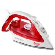 Парна ютия Tefal Easygliss red, 2400 W, Пара 35 г/мин, 120 г парен удар, FV3962E0