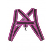Barcode Berlin Jorde Harness Black/Pink 91428-132