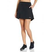 Cutter Drytec 50+ Falda para Mujer con protección contra la Humedad, Negro, M