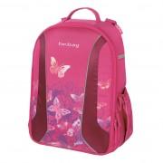 Rucsac Be.Bag ergonomic dimensiune 34x39x19cm, motiv Airgo Watercolor Butterfly