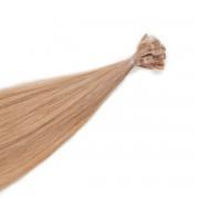 Rapunzel® Extensions Naturali Nail Hair Premium Liscio 7.61 Ash Rose Blonde 50 cm