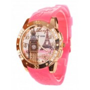 Розов дамски часовник
