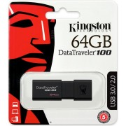 USB memorija 64 GB Kingston DataTraveler 100 G3 USB 3.0, DT100G3/64GB