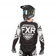 FXR Crosstrui FXR Clutch Retro Zwart-Wit - Zwart