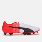 Puma evoSPEED 5.5 FG Football Shoes For Men(White)