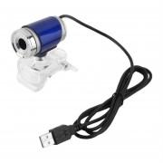 ER 50MP Cámara USB HD Webcam Web Cam Con El MIC Para La PC Del Ordenador Portátil De Escritorio Azul.