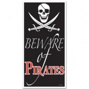 Merkloos Mega piraten poster 150 cm - Feestposters
