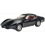 1979 Chevrolet Corvette Black 1/24 by Motormax 73244