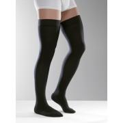 Ciorapi Medicinali Venoflex City Confort Coton barbati, tip banda pe coapsa compresia 2, varf inchis sau deschis