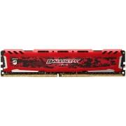 Memorie Crucial Ballistix Sport LT Red DDR4, 1x4GB, 2400 MHz, CL 16