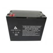 Akumulator VRLA AGM bezobsługowy AP12-80 12V 80Ah