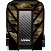ADATA AHD710MP 2 TB External Hard Disk Drive(Black, Brown)