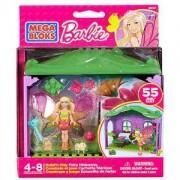 Игрален комплект Мега Блокс с мини кукла Barbie - Стаи, Fisher Price, 900148