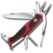 Victorinox 0.9723.C RangerGrip 74 6 Function Multi Utility Swiss Knife(Black, Red)