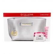 Collistar Idro-Attiva Deep Moisturizing Cream confezione regalo trattamento idratante 50 ml + gel idratante contorno occhi Eye Hydro-Gel 15 ml + trousse Piquadro donna