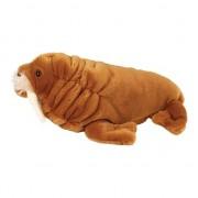 Wild Republic Knuffeldier Pluche walrus knuffel 30 cm