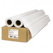 "Premium Matte Polypropylene Paper, 140 G/m2, 42"" X 75 Ft, White, 2 Rolls/pack"