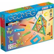 Set de constructie magnetic Geomag Confetti 68 piese