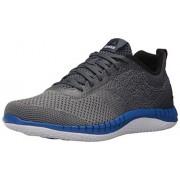 Reebok Men's Print Prime Ultk Running Shoe, Asteroid Dust/Smoky Indigo/White/Black/Vital Blue, 8 M US