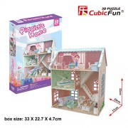 Cubicfun 3D Puzzle Pianists Home Dollhouse P684H 105 Pieces
