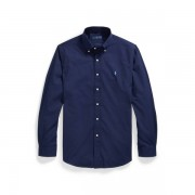 Polo Ralph Lauren Custom Fit Poplin Shirt - Newport Navy - Size: Small