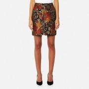 Gestuz Women's Edie Jacquard Skirt - Red - UK 6/EU 34 - Red