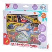 PlayGo Puzzle za slaganje vozila
