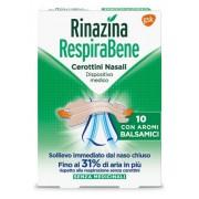 Glaxosmithkline C.Health.Spa Rinazina Respirabene Cerotti Nasali Con Aromi Balsamici Carton 10 Pezzi