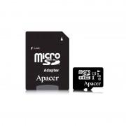 Card APACER microSDHC 8GB Clasa 10 UHS-I U1 cu adaptor SD