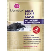 Dermacol Gold Elixir Mask 16Ml Caviar Rejuveforting Mask, All Skin Types Per Donna (Cosmetic)
