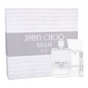 Jimmy Choo Jimmy Choo Man Ice 100Ml Edt 100 Ml + Aftershave Balm 100 Ml + Edt 7,5 Ml Per Uomo (Eau De Toilette)