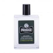 PRORASO Cypress & Vetyver After Shave Balm Bartbalsam mit Zypresse- u. Vetiverduft 100 ml für Männer