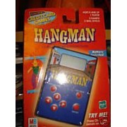 HANGMAN - Palm-Size Word Guessing Game - Electronic Credit Card Games