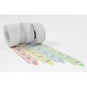 Rotolo 2000 etichette per chiocciola eliminacode 5pz