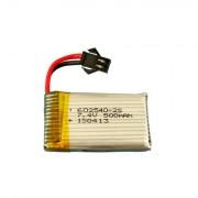 Acumulator Li-Po 602540 500mAh, 7.4V 25C