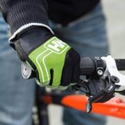 EW NH23S011-TNH Half Finger Cycling Gloves (Damien) green M-luz fría