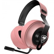 COUGAR Phontum Essential - Pink, Stereo Gaming Headset, 40mm Driver, Extra Large Foam Ear Pad, Steel Headband, Noise Cancellatio