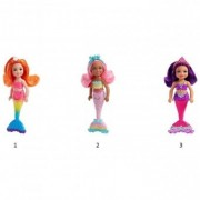 Barbie Dreamtopia mini papusa sirena FKN03